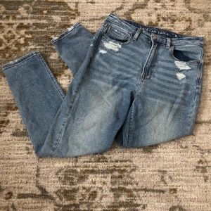 Mom stretch jeans from American eagle